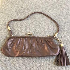 Charles David  bronze metallic purse